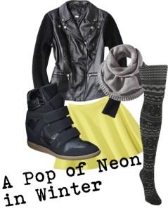 A Pop of Neon