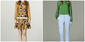 side by side of 3.1 Philip Lim for Target