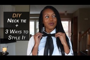 DIY: Neck and bow tie